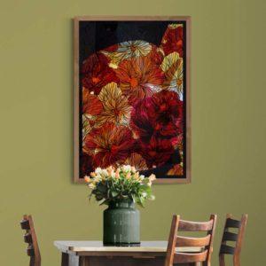 Patterned Petals Floral