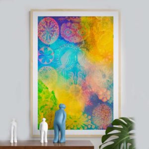 Other Worlds Abstract Designs