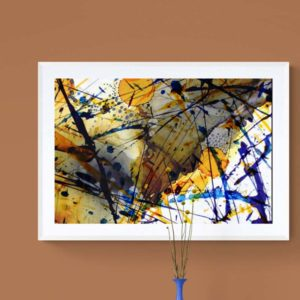 Chaotic Balance Abstract Designs