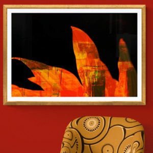 Flames Abstract Designs