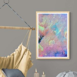Pastel Paths Abstract Designs
