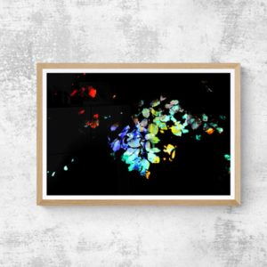 Scattered Abstract Designs
