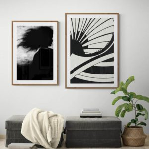 Fan Abstract Designs