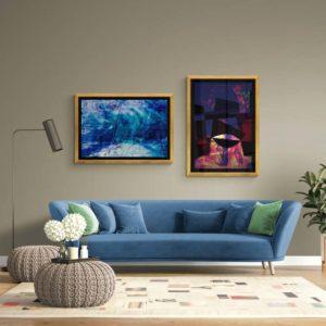 Cauldron Abstract Designs