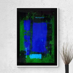 Blue Blocks Abstract Designs