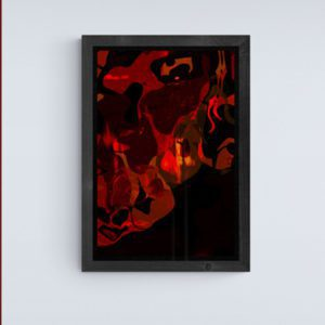 A Spirited Mood Abstract Designs