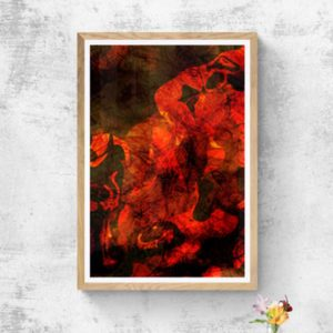 Thor the Norse God Abstract Designs