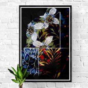 4 Bits Floral