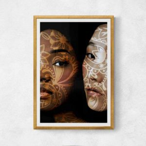 Inner Tattoos of Two Women People