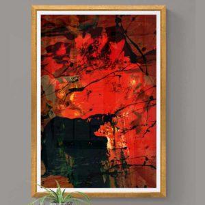 Ablaze Abstract Designs