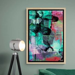 Stained Glass Abstract Designs