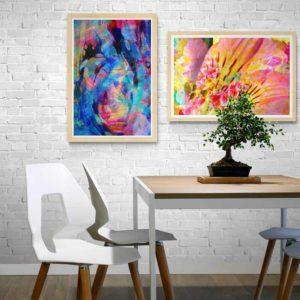 Vortex Abstract Designs