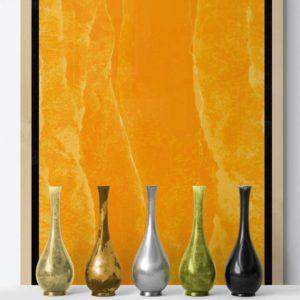 Orange Peels Abstract Designs