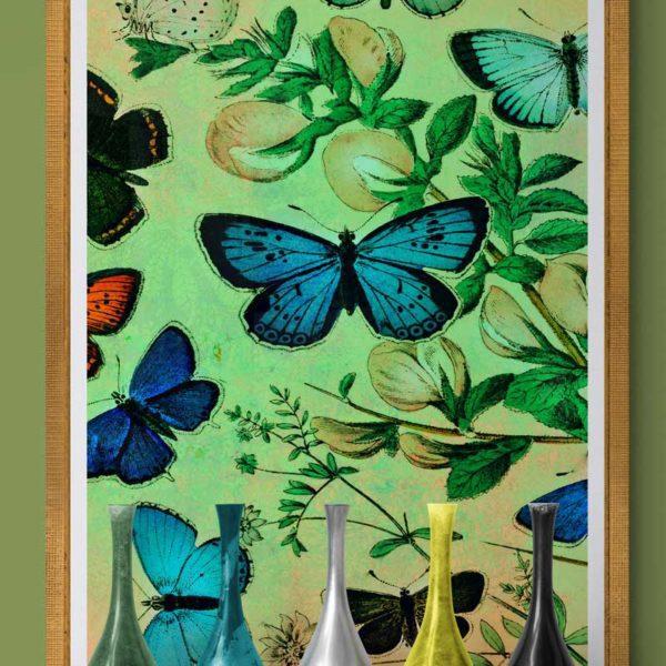 Butterflies in Flight Nature & Creatures