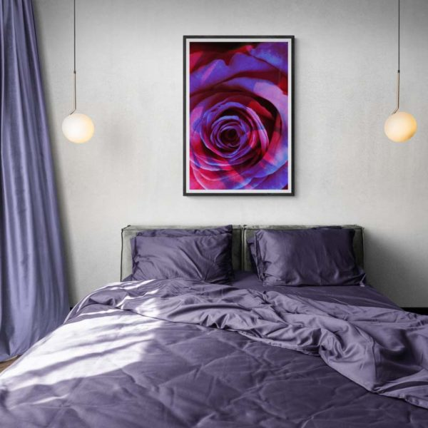 Purple Rain Rose Floral
