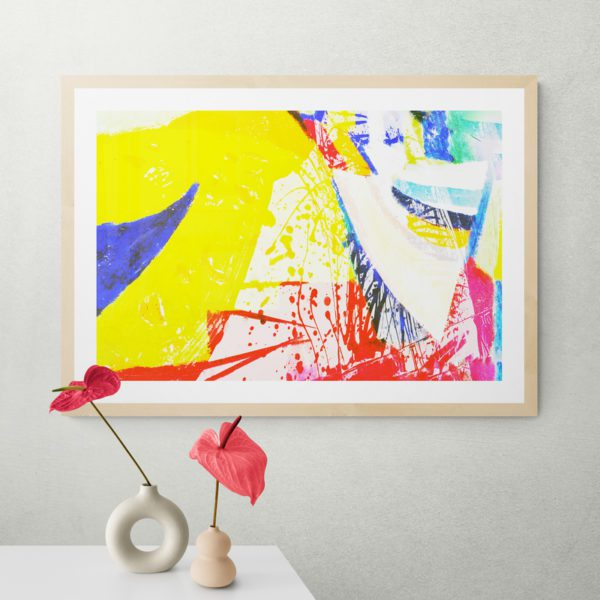 Yellow Abstract Designs