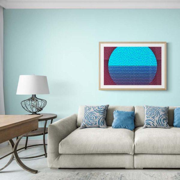 Minimalist Moon Abstract Designs