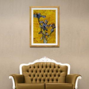 Golden Iris Floral