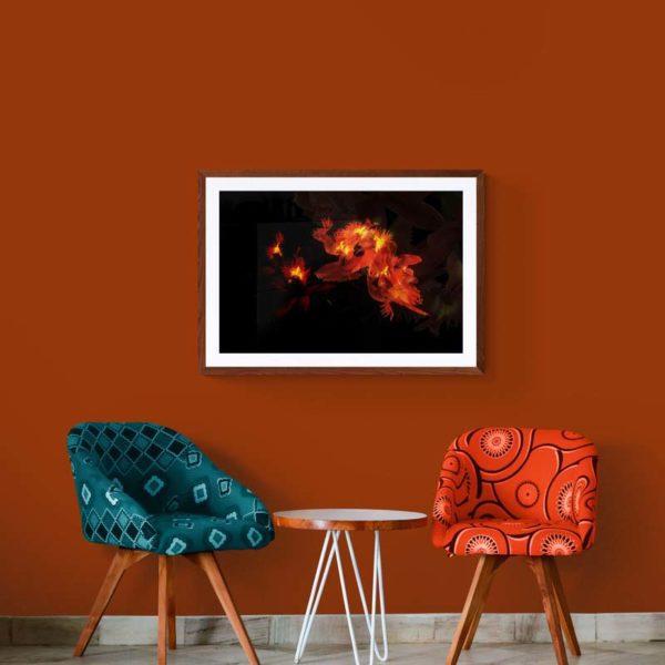 Dragon Dance Abstract Designs