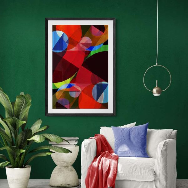 Red Current Abstract Designs