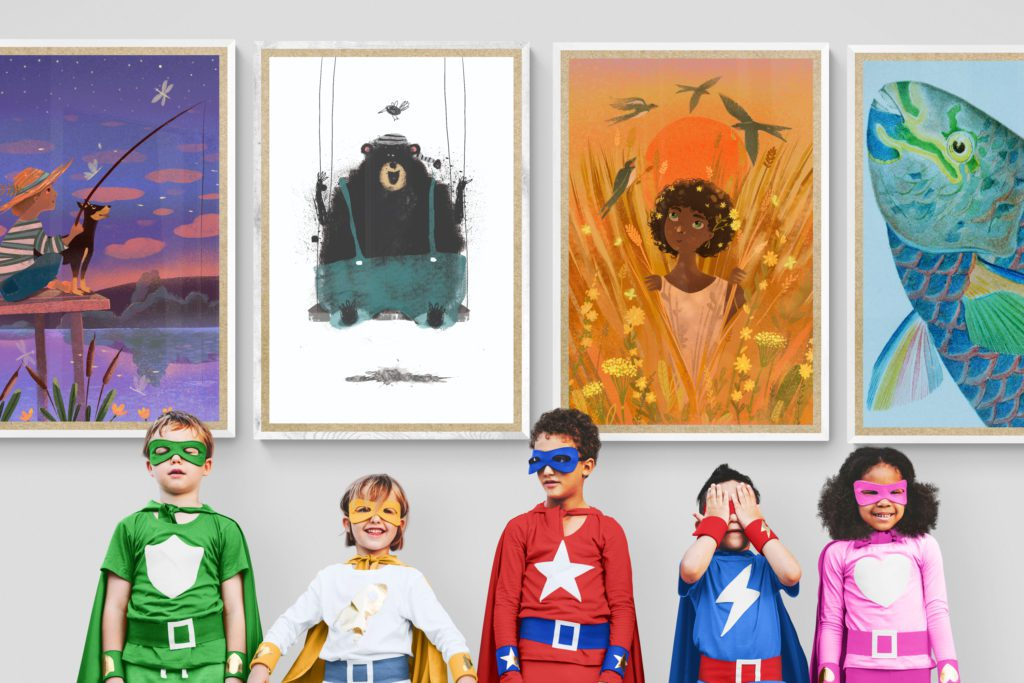 JustJinx.com - Printable Art for Charity Kids of All Ages