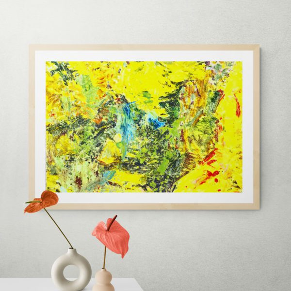 Waltzing Abstract Designs