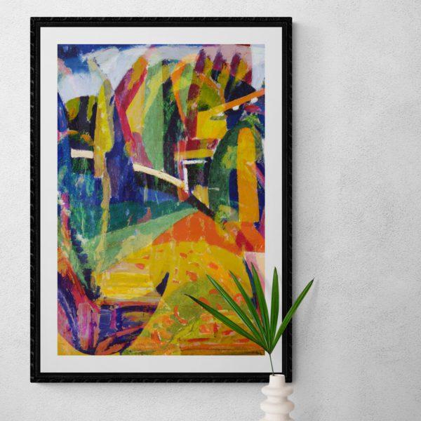 A Path in Crikvenica Abstract Designs